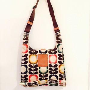 Orla Keily Handbags - Orla Kiely Summer Flower Maxi Sling Bag 2011