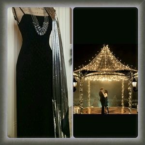 Jodi Kristopher Dresses & Skirts - ❤HOST PICK❤ Queen of the night black evening gown