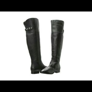 Flash Over The Knee Boot - Black