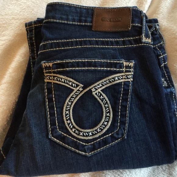 da388121386 Big Star Denim - Big star maddie boot cut jeans size 31 long