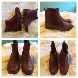 Jeffrey Campbell Capstain Boots Size 7