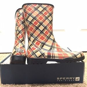 BNWT Sperry top-Siders rain boots