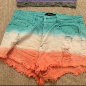 Ombré shorts
