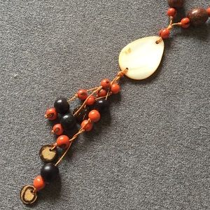 Jewelry - Beaded Necklace with Natural Shells