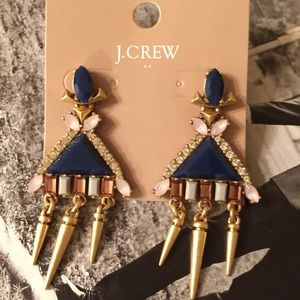 🌟Sale J.crew Triangle Trapeze Earrings