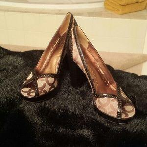 Brown Coach Shoe