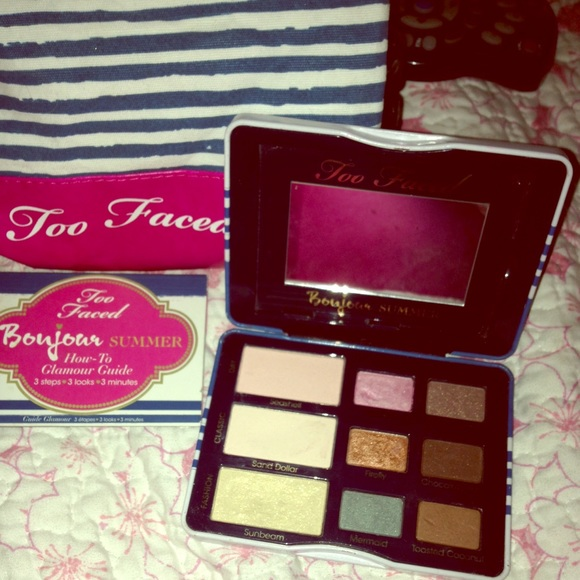 35% off Too Faced Accessories - Too faced makeup pallet and ...