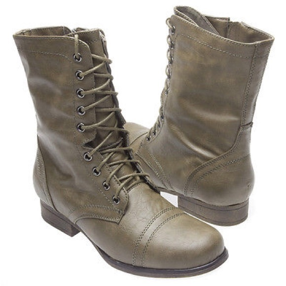 43% off Madden Girl Boots - NIB Madden Girl Gamer Combat Boot from ...