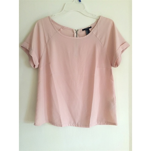 5d3f58415eef1b Forever 21 Tops - Forever 21 Blush Loose Top