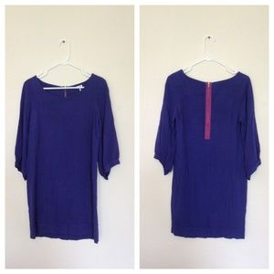 Anthropologie Splendid Purple Shift Dress Sz Small
