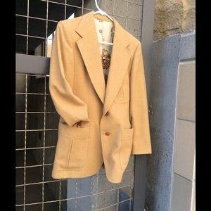 Vintage camel blazer