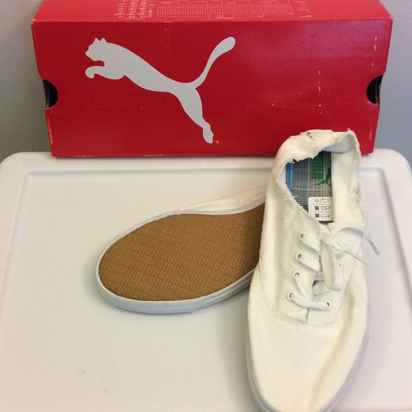c27a61b0bd8abb Brand New Tekkies Jam White Pumas