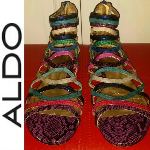 Aldo Shoes   Aldo Multicolor Snakeskin