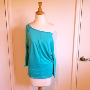 Tops - Turquoise Dolman Tunic Top