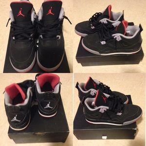 Jordan Shoes   4 Breds   Poshmark