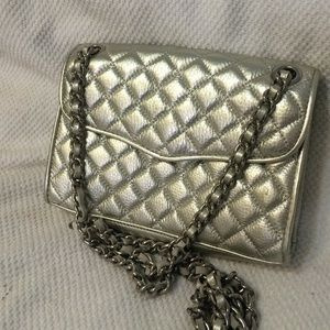 Rebecca minkoff quilted affair crossbody mini bag