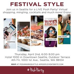 You're Invited: LIVE Seattle Posh Party