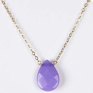 Jami Jewelry - Lavender Jade Pendant Necklace. Price Firm.