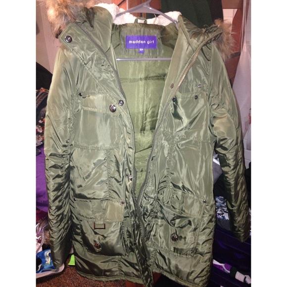 84% off Madden Girl Outerwear - Madden Girl winter coat from ...