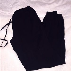 Guess silk boyfriend pant