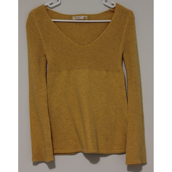 64% off Old Navy Sweaters - Old Navy Mustard Sweater from ...