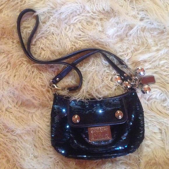 Coach Handbags - Coach Poppy Sequins Groovy Bag aa63a5d539