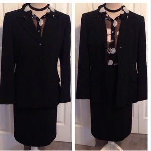 Kasper Jackets & Blazers - KASPER•TWO PIECE• Jacket & Skirt• Fully Lined Suit