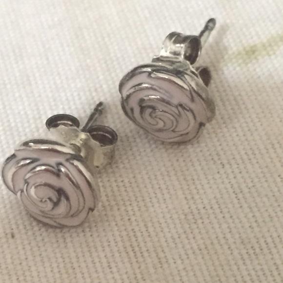 Rose Earrings Pandora Pandora Rose Earrings