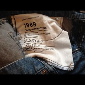 Pants - Real Straight 1969 brand jeans