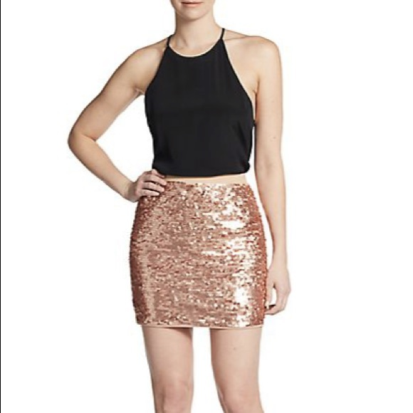 58% off BCBGMaxAzria Dresses & Skirts - Bcbgmaxazria Sequined Mini ...
