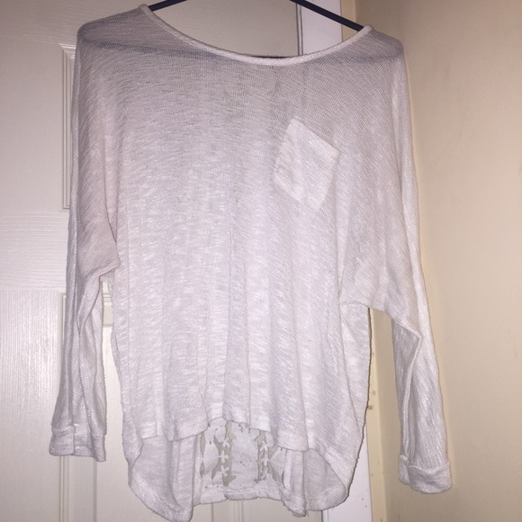 43% off Free People Sweaters - Slouchy oversized knit sweater from Hailey...