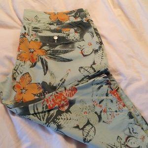 Joie Floral Pants