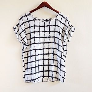 | new | caged blouse