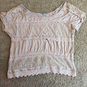 Lace Charlotte Russe shirt