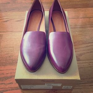 Madewell leather loafer