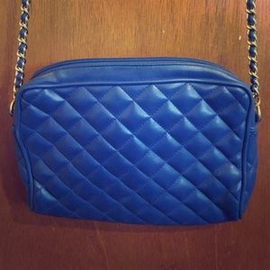 Vintage Quilted Crossbody Purse