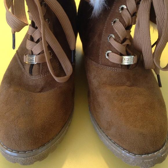 Michael Kors Boots With Fur Michael Kors Fold Over Fur