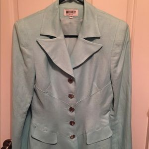 NEW Light Blue Moschery blazer