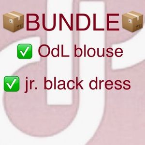 Oscar de la Renta Dresses - bundle of blouse and dress