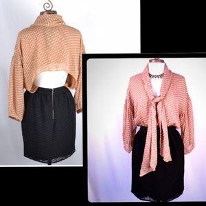 Isabel Lu Dresses & Skirts - NEW! ISABEL LU Black/Tan Color-block Dress Size M