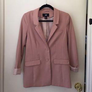 H&M Jackets & Blazers - Light pink blazer