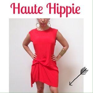 Haute Hippie Cherry Red Dress