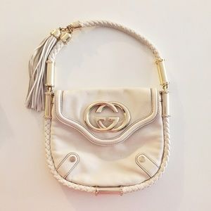 Gucci Britt Bag in White
