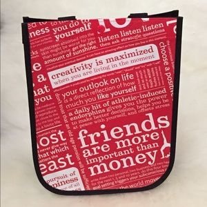 Set of 12 Lululemon reusable shopping bags