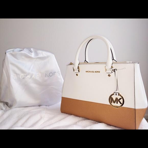 6a96279a6038 MICHAEL Michael Kors Bags | Michael Kors Sutton Medium Colorblock ...
