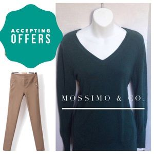 Mossimo Supply Co. Sweaters - Dark Green Sweater