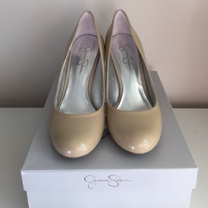 Jessica Simpson Nude Pumps 10 | worn once