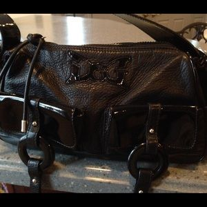 Final Sale Authentic  D & G Black  Handbag
