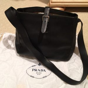 prada vernice flower - Black Prada vintage bag on Poshmark