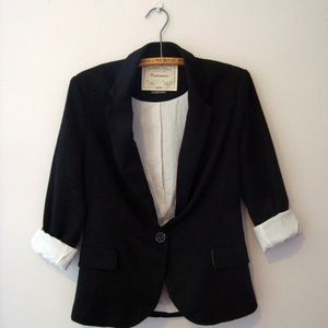 Anthropologie Flipside Blazer